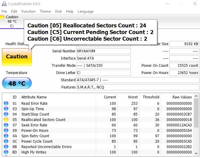 Click image for larger version.  Name:CrystalDisk Results.jpg Views:9 Size:145.1 KB ID:74089