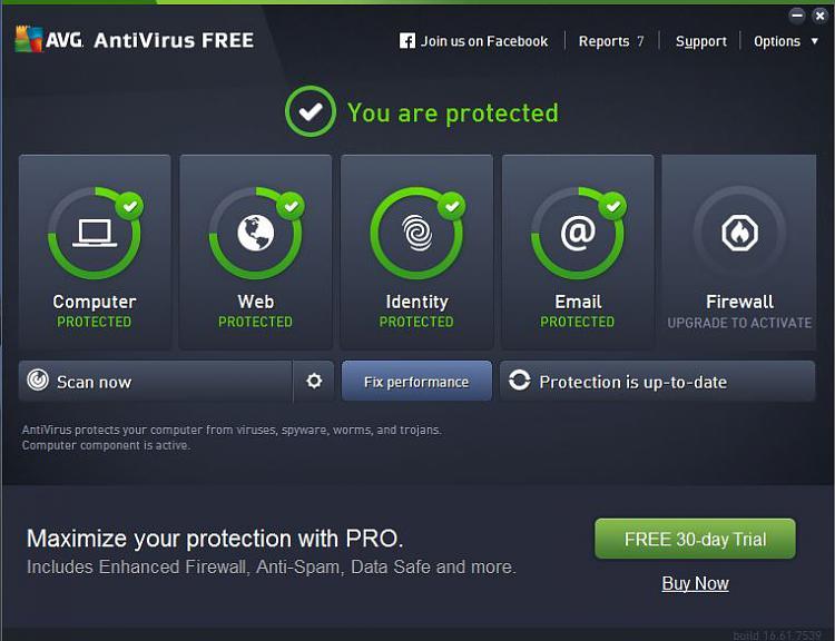 AVG antivirus Interface.JPG