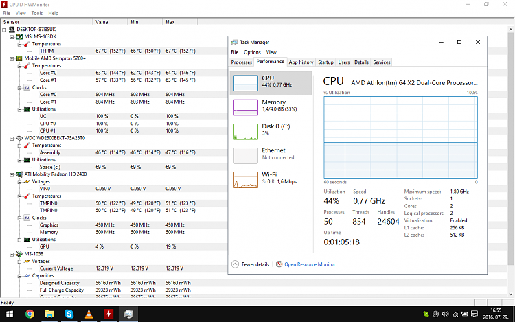 windows update cpu overheat