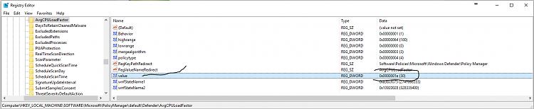 Click image for larger version.  Name:Chenge to Defender registry key.PNG Views:10 Size:43.9 KB ID:93973