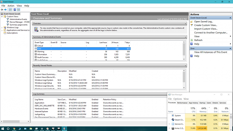 """Sudden and temporary slowdowns. .exe processes """"not responding""""-screenshot-12-.png"""