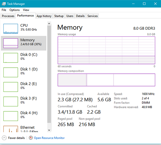 Windows 10 Low on Memory - Firefox-task-manager-memory.png