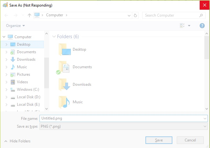"File Explorer shows ""Working on it..."" after Windows 10 upgrade-3.jpg"