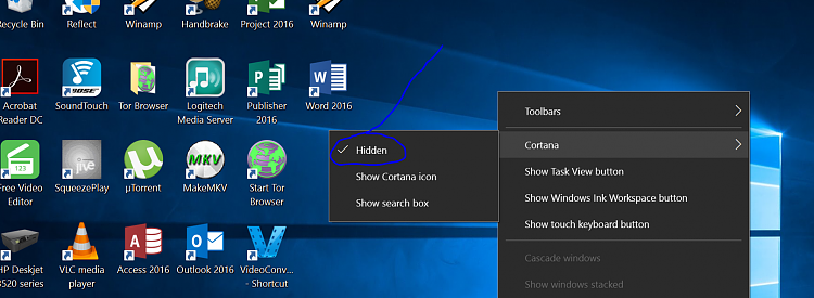 Cortana Popup Adverts In Action Centre Since Update-desk.png