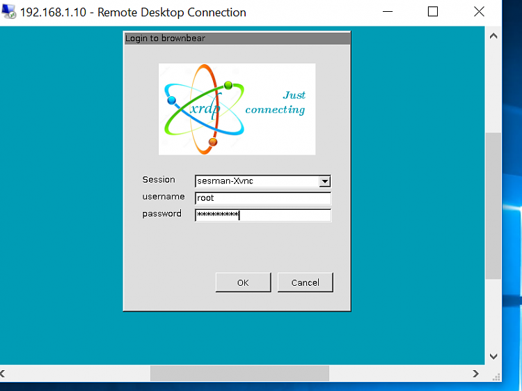 RDP from Windows to Linux - no Windows software needed - Windows 10