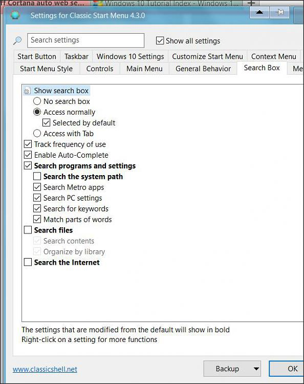 how to turn on windows search