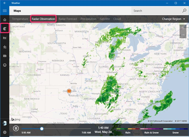 Free download alp for weather map windows 10 forums click image for larger version name weatherappg views 18 size gumiabroncs Image collections