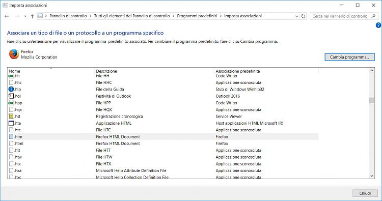 programma file hpd