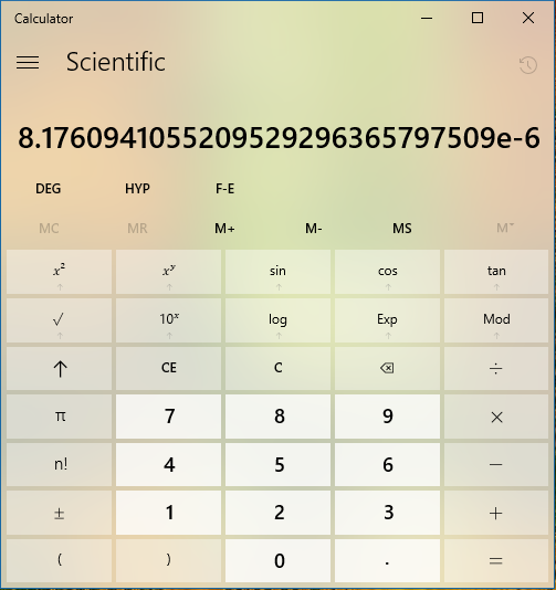 Click image for larger version.  Name:Calculator pasted number2.PNG Views:12 Size:93.8 KB ID:151507