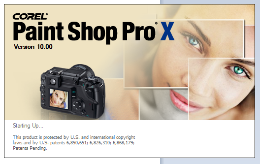 "Corel Paint Shop Pro X freezes on splash screen at ""Starting up...""-psp10-freeze.png"