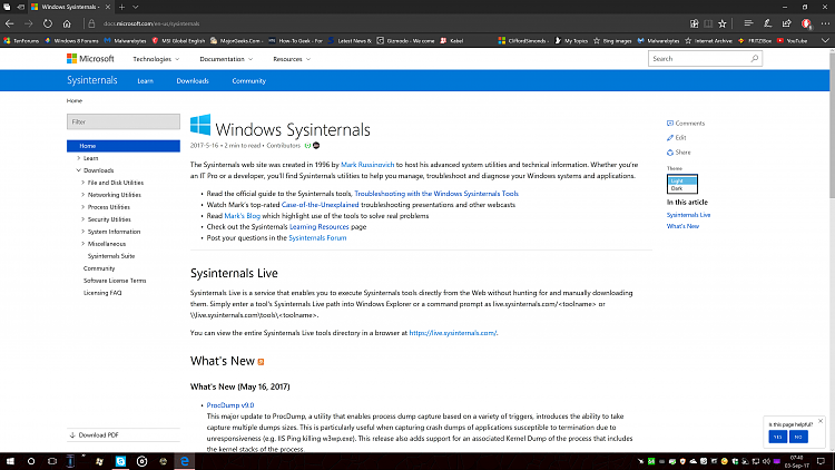 Attn. Devs: Sysinternals had some major updates-image-001.png