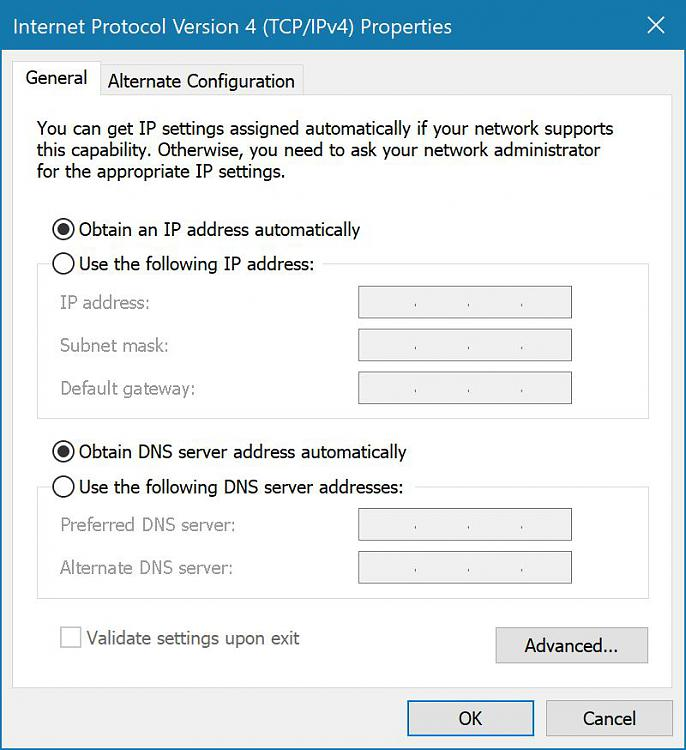 Cannot Download Anything From Microsoft Store-ip-address-dns-server-settings.jpg