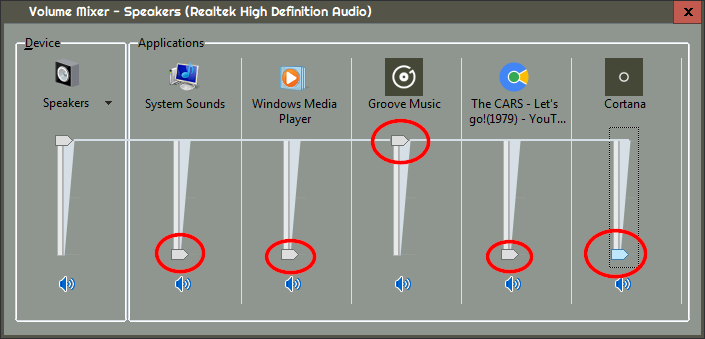 Music only from one software with Windows 10 - Windows 10 Forums
