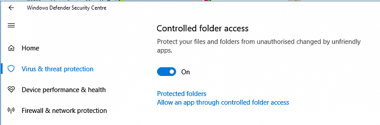 Click image for larger version.  Name:FCU Defender controled folder access.PNG Views:3 Size:15.0 KB ID:159130