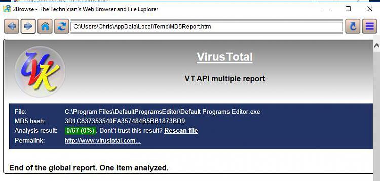 Click image for larger version.  Name:VirusTotal.jpg Views:0 Size:49.1 KB ID:165515