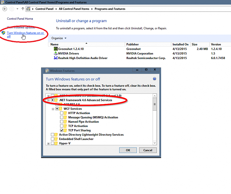 net framework 4.6 windows 7 32 bit