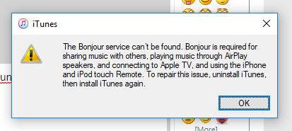 Click image for larger version.  Name:bonjour error.PNG Views:27 Size:15.1 KB ID:167710