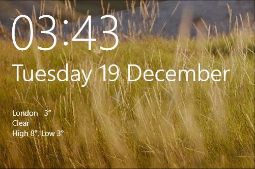 Click image for larger version.  Name:lock screen with weather.png Views:18 Size:280.7 KB ID:168772