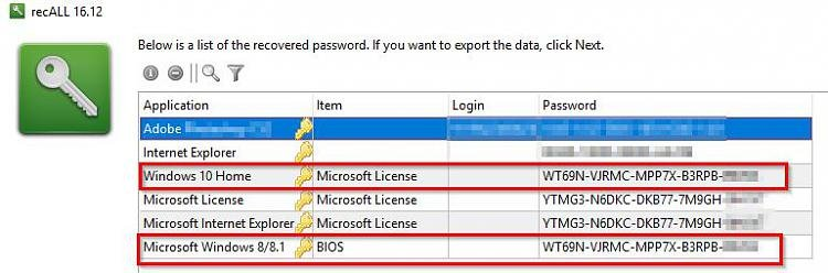no more lost product keys - Page 2 - Windows 10 Forums