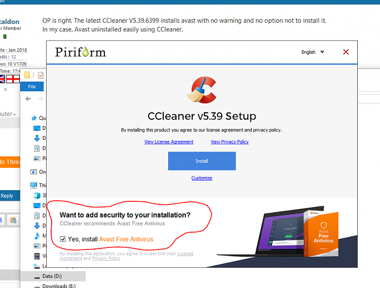 Click image for larger version.  Name:avast installl option.PNG Views:7 Size:89.7 KB ID:173240