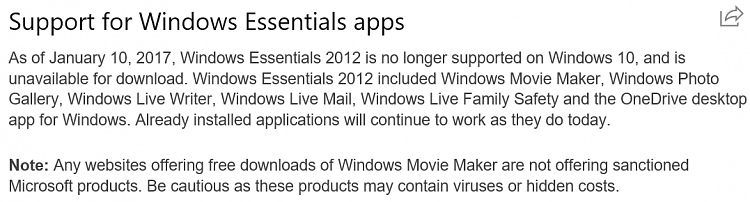 Can I Get Movie Maker On Win10 Again Windows 10 Forums