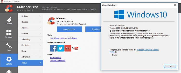 Click image for larger version.  Name:CCleaner in 1709.PNG Views:3 Size:62.4 KB ID:179160