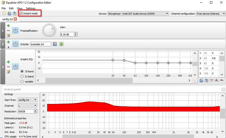 Click image for larger version.  Name:Equalizer APO 1.2 Configuration Editor.jpg Views:2 Size:94.2 KB ID:179209