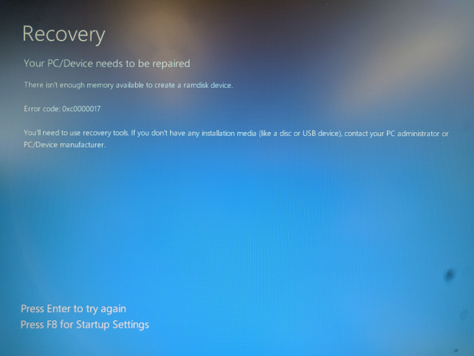 Windows 10 Recovery Tools - Bootable Rescue Disk-blue-screen.png