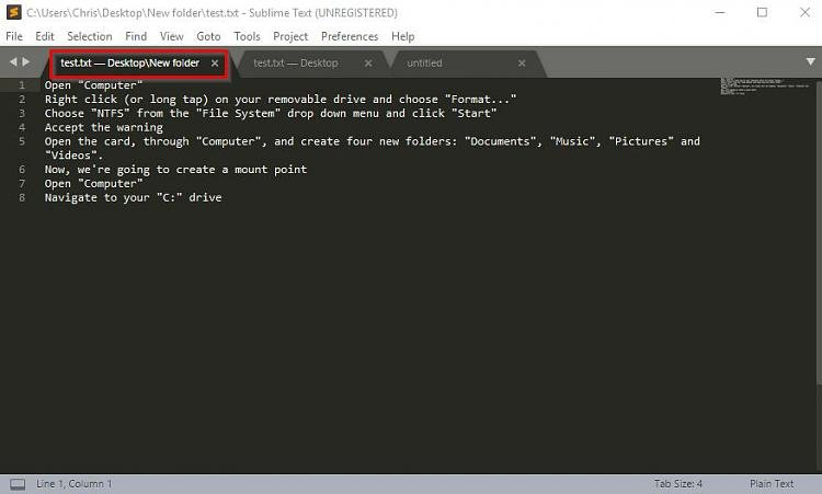 Click image for larger version.  Name:Sublime Text 1.jpg Views:3 Size:41.1 KB ID:182353