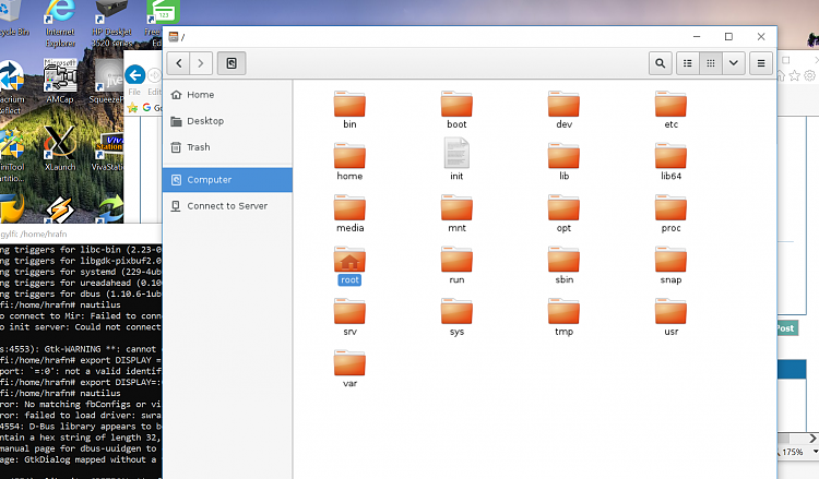 Mad prof strikes again GUI on UBUNTU in Windows (WSL) !!! Solved
