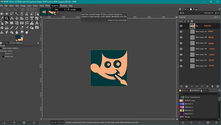 Gimp Update out-iconify.png