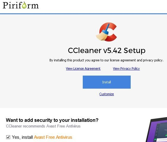 Click image for larger version.  Name:Uncheck Avast.JPG Views:43 Size:35.0 KB ID:189405