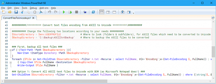 Unreadable non-ANSI characters in Notepad Solved - Windows 10 Forums