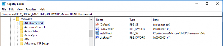 Click image for larger version.  Name:Registry NETFramework.PNG Views:3 Size:18.8 KB ID:191275