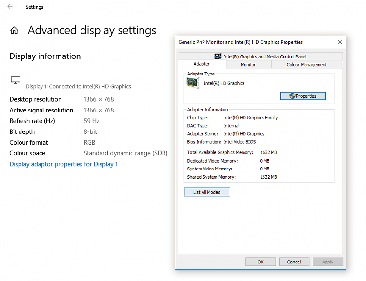 Click image for larger version.  Name:display adapter settings.PNG Views:2 Size:41.4 KB ID:191287