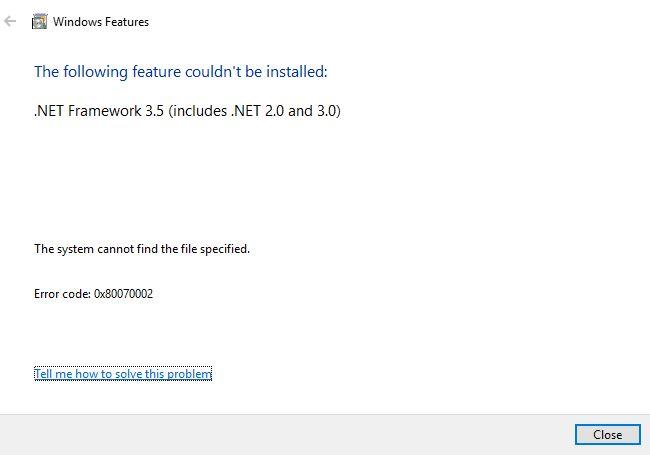 2 - cannot install dot net - error.JPG