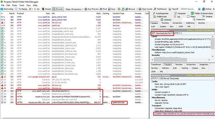 Click image for larger version.  Name:Telerik Fiddler Web Debugger.jpg Views:2 Size:193.4 KB ID:199957