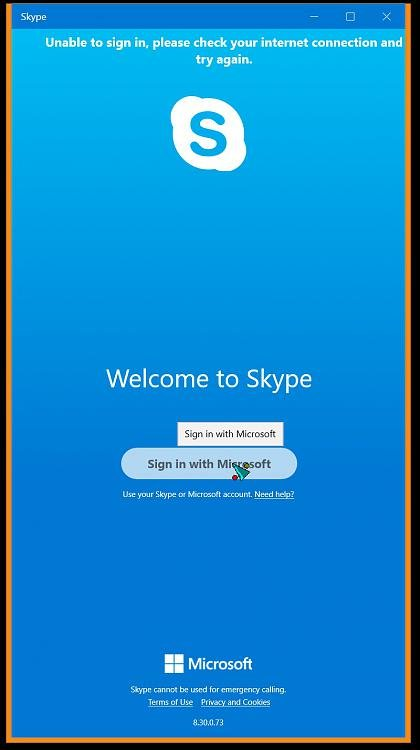 After 1809 upgrade unable to run Skype or Microsoft Store