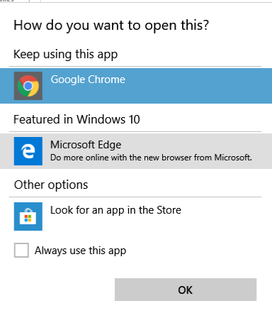 How do I stop getting a Which App dialogue box ?-chrome-edge.png