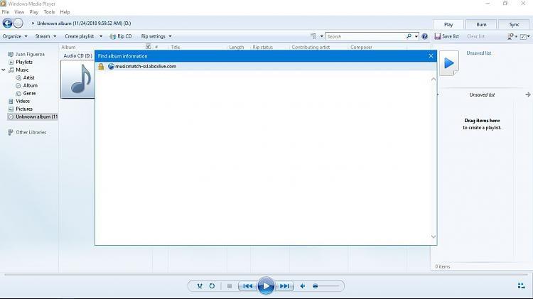 Windows media player not updating album info dating geeks