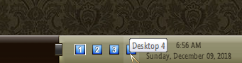 Is there a way to pin the desktops displays to lower taskbar?-001459.png
