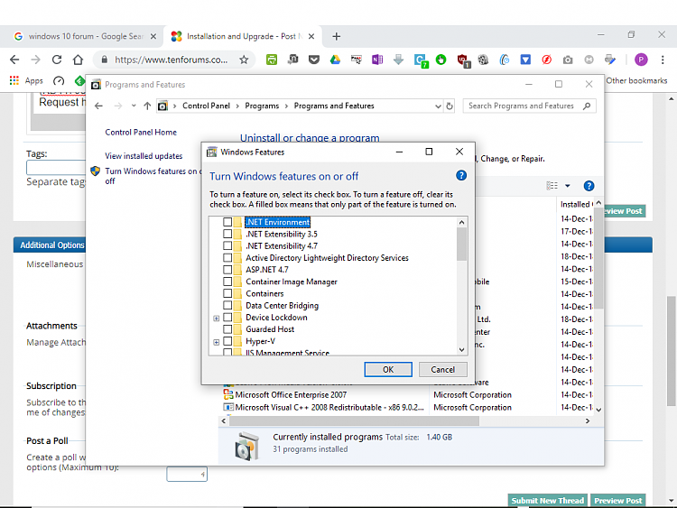download net framework 3.5 windows 10 enterprise 64 bit