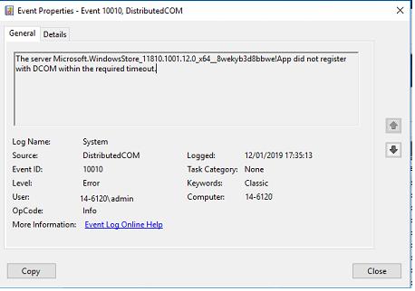 windows Store crash after open it  - Windows 10 Forums