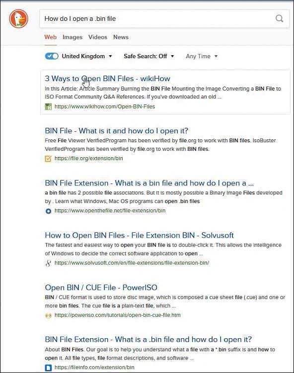 bin Files Solved - Windows 10 Forums