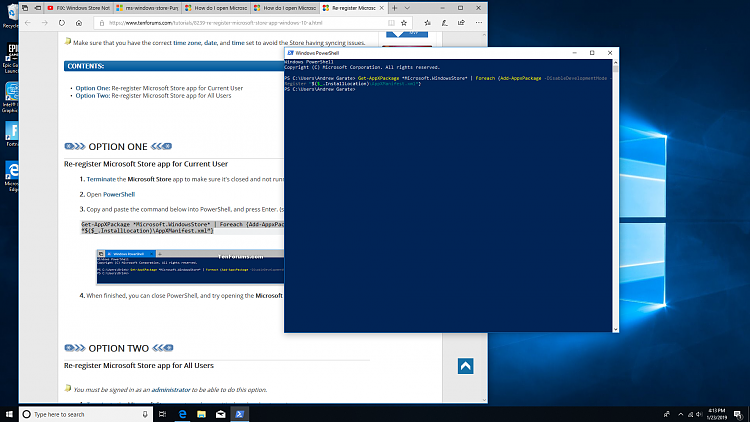 How do I open Microsoft store with error ms-windows-store:PurgeCaches-screenshot-1-.png