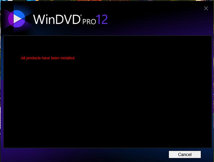 windvd 12 windows 10
