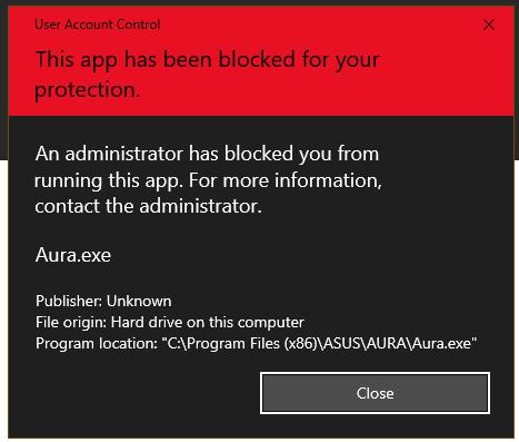 Windows 10 keeps blocking trusted program - Windows 10 Forums