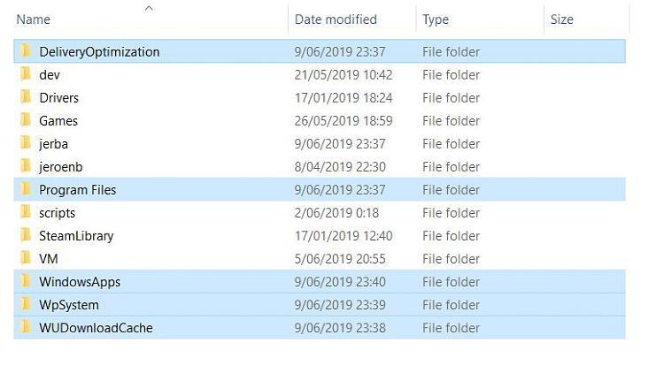 Removing Windows Store App Install Location-extrafolders.jpg