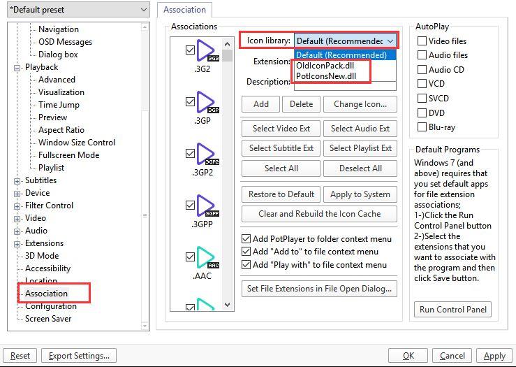 strange icon for Pot player - Windows 10 Forums