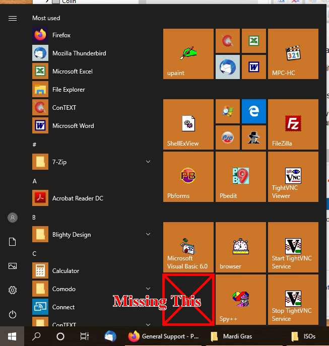 Finding out what was removed by windows update-startmenu.png
